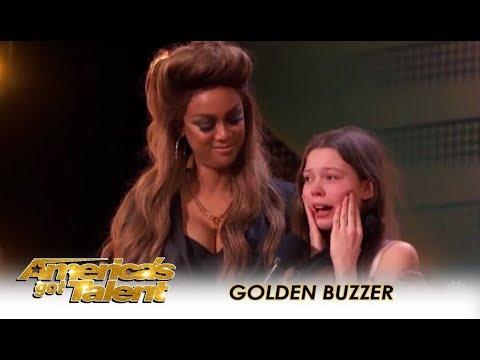 America's Got Talent: Η ντροπαλή 13χρονη που άφησε άφωνους τους κριτές με την φωνή της