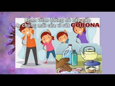 Video tuyên truyền phòng tránh Corona