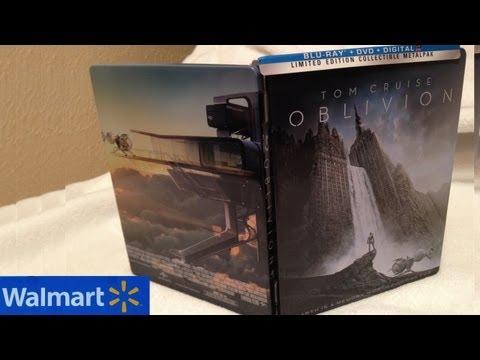 Oblivion Walmart Exclusive Blu-ray/DVD MetalPak Unboxing - (2013) - Tom Cruise