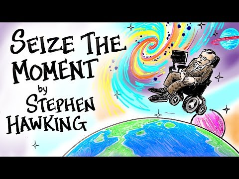 Seize the Moment An Animated Version of an Inspiring Speech by Stephen