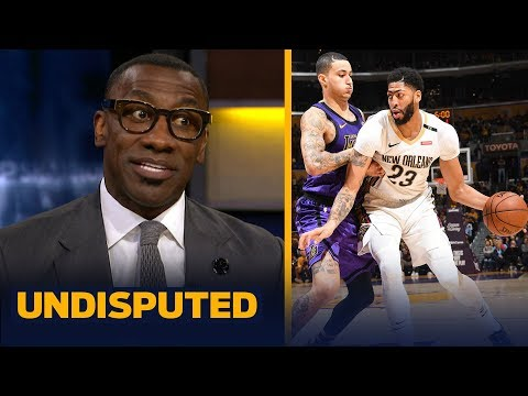 Shannon Sharpe says the Pelicans 'don't have any incentive' to trade AD to Lakers | NBA | UNDISPUTED