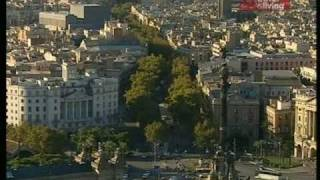 Лас Рамблас. Барселона. Улицы мира