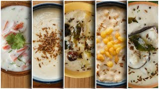 Raita  5 ways, Recipe by Food Fusion