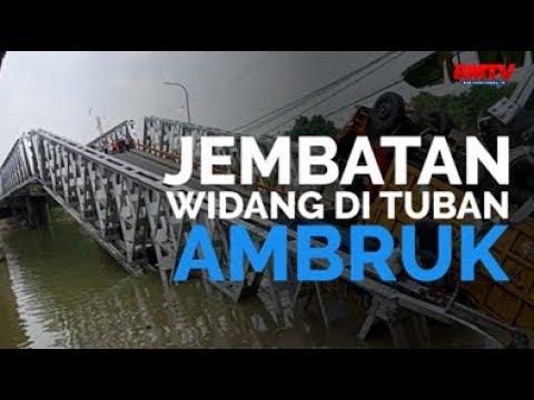 Jembatan Widang Di Tuban Ambruk