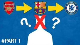 Hayo Tebak Siapa Nama Pemain Sepakbola Dilihat dari KlubTranser ?   Puzzle riddle kuis cerdas #PART1