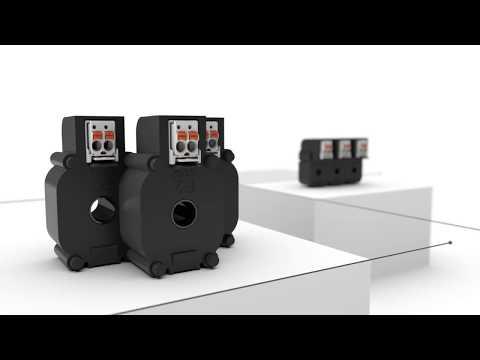 WAGO.PL - Przekładniki prądowe przewlekane z wielownikiem picoMAX® wyjście 1A