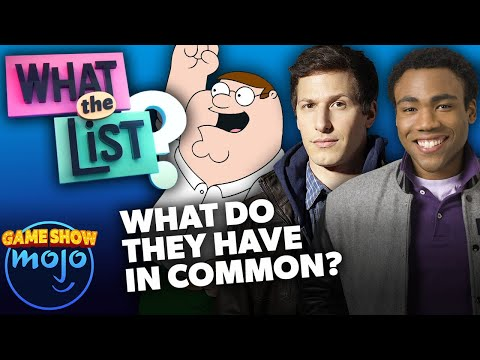 What The List? - Ep. 8 - Can You Guess What These Shows Have In Common?