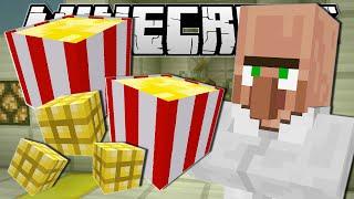Minecraft | MOVIE NIGHT SNACKS!! (Popcorn Machine) | Custom Command