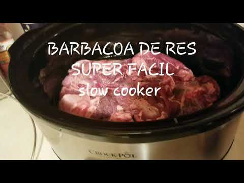 Barbacoa De Res SUPER FACIL