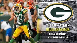 Green Bay Packers | Regular Season | Bengals @ Packers - Takeaways (LIVE)