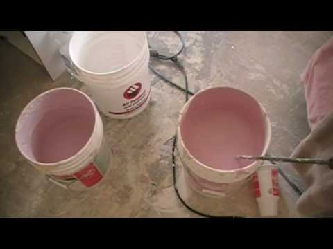 Using Colored Drywall Texture - Wall Remodeling Tips
