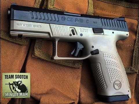 New CZ P10C 9mm Strikerfire Pistol Review