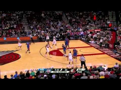Detroit Pistons 78 – Portland Trail Blazers 100