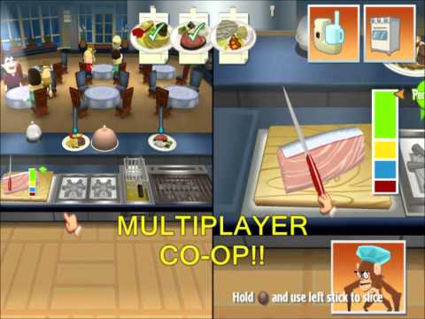 Order Up!! PS3 - OFFICIAL Gameplay Trailer!!.wmv