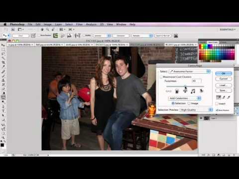 Photoshop's New Hover Hand Tool видео