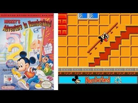 Mickey's Adventures in Numberland NES Hard No Damage No Death Прохождение (ULTRA HD - 4K)