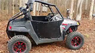 9. 2009 polaris 800 rzr s efi walk around