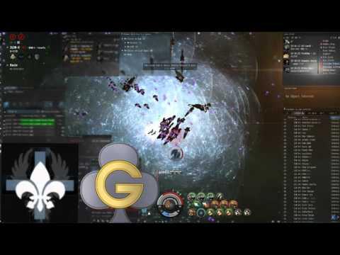 EVE Online - GCLUB - 3L3N-X fight vs soviet union