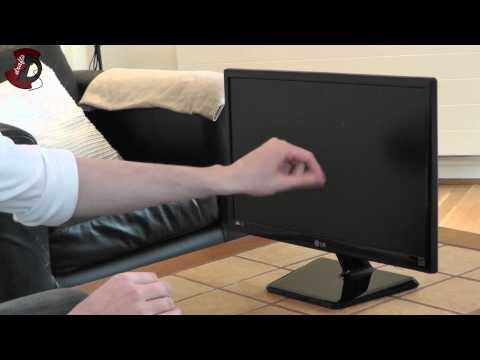 LG IPS224V 21.5 inch LED Backlit IPS unboxing and review