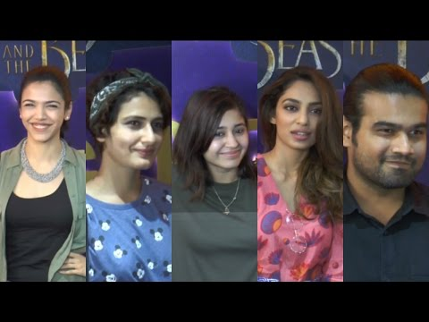 Fatima Sana Shaikh & Sanya Malhotra Host Screening Of Beauty & The Beast
