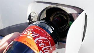 Что будет, если залить в бензобак Кока-Колу?
