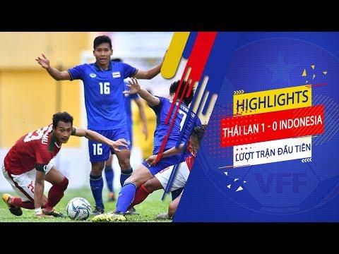 Đồng đội Xuân Trường lập cú đúp, U23 Thái Lan dễ dàng hạ gục U23 Indonesia | VFF Channel - Thời lượng: 6 phút, 33 giây.