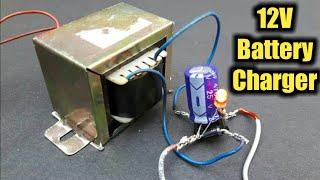 How to Make 12V Battery Charger At Home