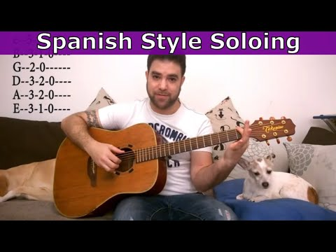 8 Simple Concepts For Spanish-Style Soloing & Improvisation – Guitar Lesson Tutorial w/ TAB