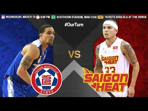 Hong Kong Eastern Long Lions vs. Saigot Heat | LIVESTREAM | 2016-2017 ASEAN Basketball League