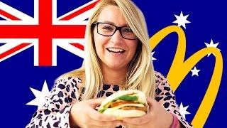 Americans Try Australian McDonald's (Macca's)