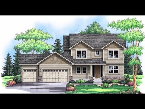 New Construction Two Story for Sale in Mystic Meadows 19866 Deerbrooke Path, Farmington MN