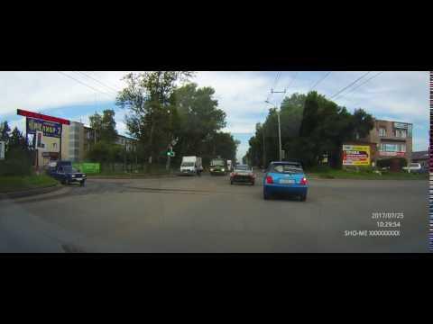 Авария с пешеходом в Абакане