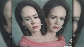 First Look: Sarah Paulson's Two Heads for American Horror Story: Freak Show