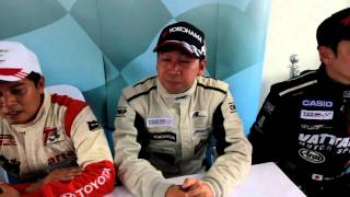 Thailand Super Car Class2 2013 Race 5 Post Race Interview At Bira International Circuit 5/10/2013