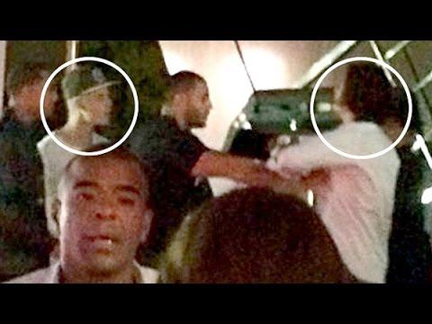 ¡Orlando Bloom le da en la cara a Justin Bieber! ¡Video Exclusivo!