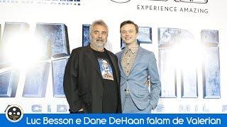 Luc Besson e Dane DeHaan falam de Valerian em passagem pelo Brasil