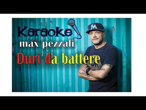 , title : 'Max Pezzali duri da battere - karaoke'