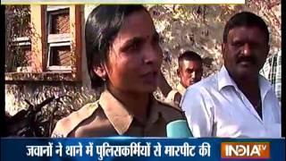 Army Men Vandalises Police Station in Nashik - India TV