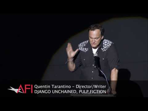 Dern - Quentin Tarantino introduces a Bruce Dern Tribute Reel as part of the NEBRASKA gala screening at AFI FEST presented by Audi.