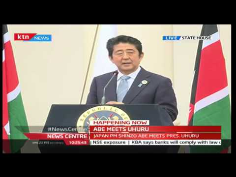 TICAD Conference: Japan PM Shinz? Abe's [FULL SPEECH] during his visit to Kenya