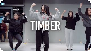 Video Timber - Pitbull ft. Ke$ha / Beginner's Class MP3, 3GP, MP4, WEBM, AVI, FLV Juni 2019