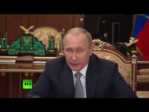 Заявление Владимира Путина по убийству российского посла в Анкаре (видео)