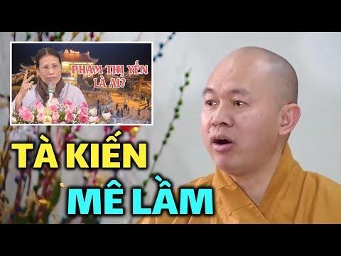 """Tổng Thư ký Hội đồng Trị sự Giáo hội Phật giáo VN nói """"oan gia trái chủ"""" Chùa Ba Vàng là Tà kiến - Thời lượng: 16 phút."""