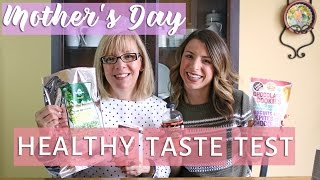Nonton Healthy Junk Food Taste Test W  My Mom   Mother S Day Edition Film Subtitle Indonesia Streaming Movie Download