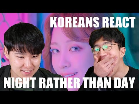 Video EXID - Night Rather Than Day MV [Korean Reaction] download in MP3, 3GP, MP4, WEBM, AVI, FLV January 2017
