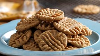 3-Ingredient Peanut Butter Cookies by Tasty