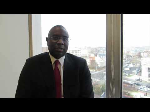 Reginald Sanders on The Bottom Line report
