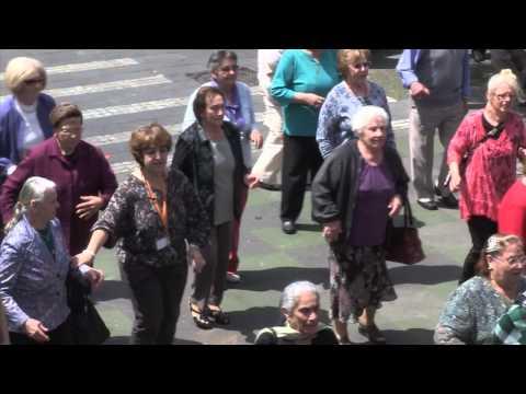 Moreland Senior Citizens' Flashmob Dance video 2014
