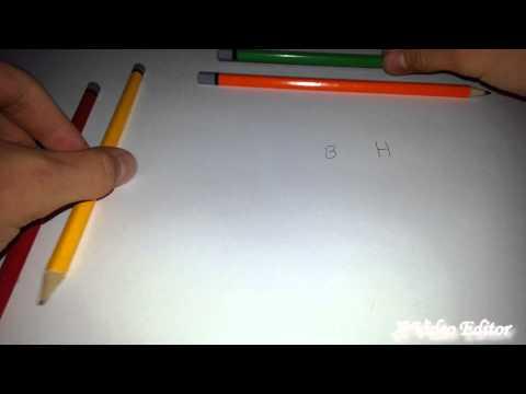 Ein kleiner Bleistift Test