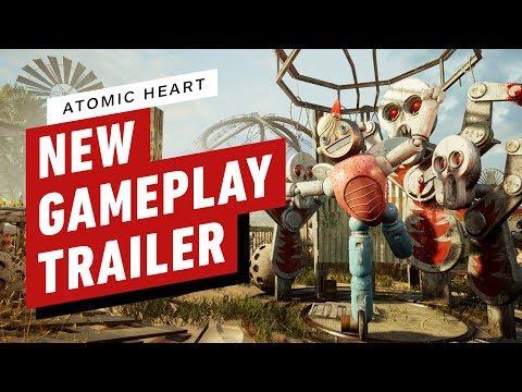 """10 минут геймплея будущей игры """"Atomic Heart"""""""